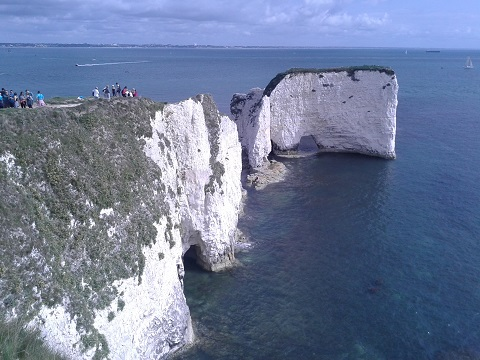 Kučerová-Útesy Old Harry Rocks 2